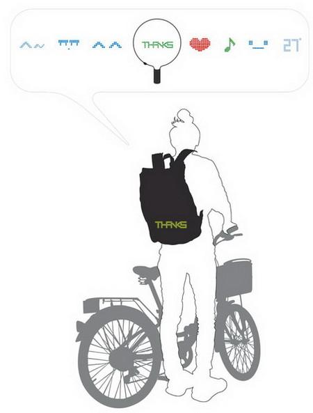 Рюкзак Seil Bag – защитник велосипедистов и пешеходов — фото 9
