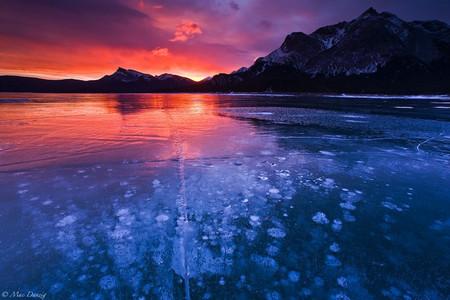 Как в заледеневшей сказке: озеро Авраама в Канаде — фото 5