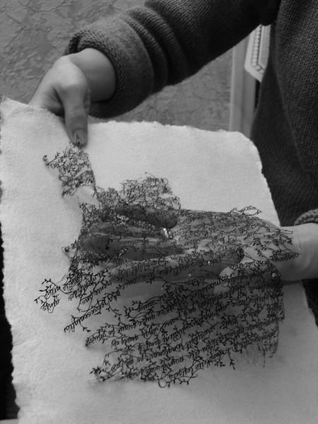 Кружева из бумаги – ювелирные работы Хины Аоямы — фото 13