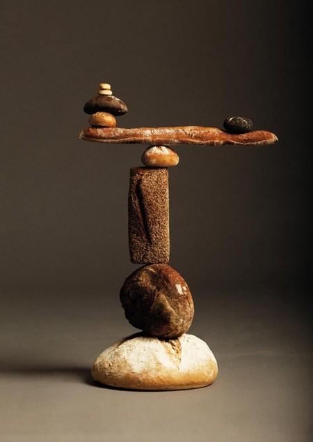 Парящий хлеб в сбалансированных «скульптурах» — фото 2