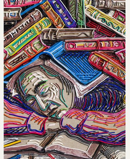 Яркие картины из кабелей от Федерико Урибе — фото 6