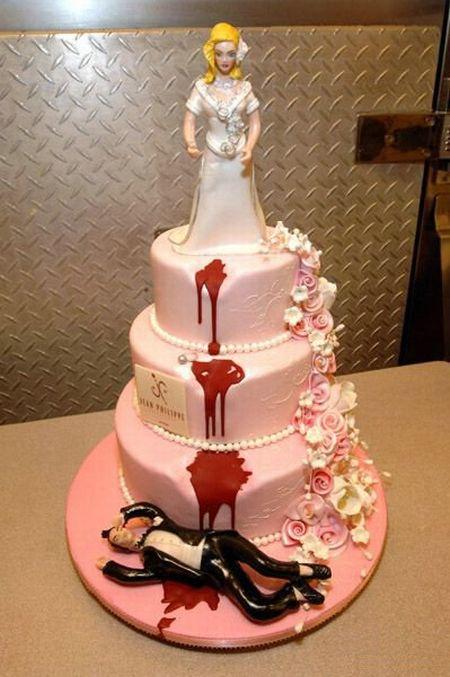Отпразднуем … развод? Антисвадебные торты от Фэй Миллар — фото 13