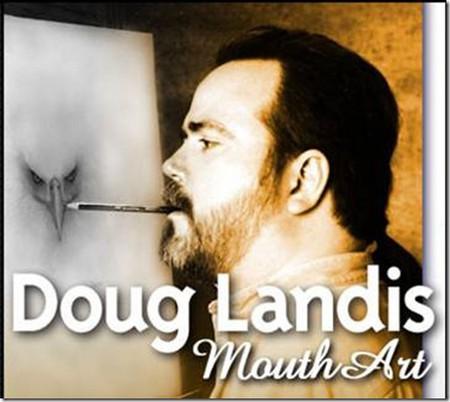Рисунки карандашом … но не руками. Дуг Лэндис (Doug Landis) – необычный художник. — фото 2