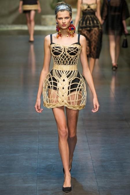 Сицилия от Dolce & Gabbana - женская коллекция весна-лето 2013 — фото 3