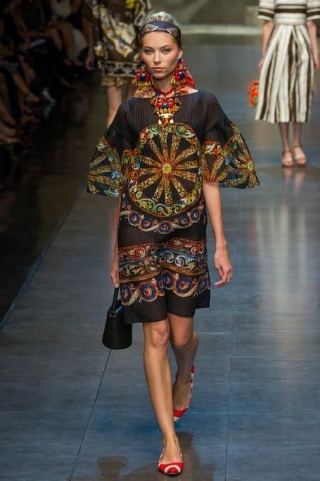 Сицилия от Dolce & Gabbana - женская коллекция весна-лето 2013 — фото 70