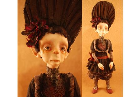 Зомби, монстры, вампиры и прочие куклы Камиллы Млынарчик — фото 5