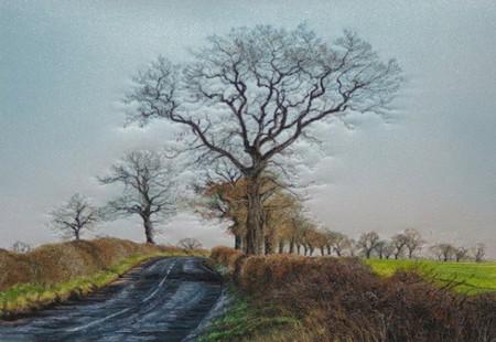 Вышитые пейзажи Джилл Дрэпер (Jill Draper) — фото 5