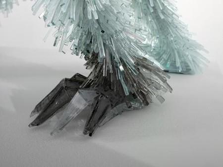Скульптуры из битого стекла от Марты Клоновской — фото 10
