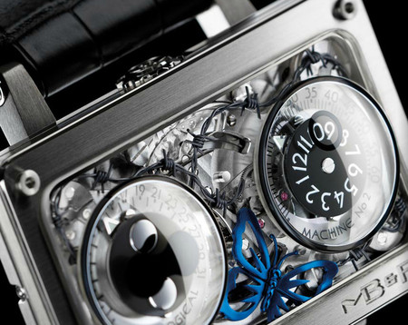 Роскошный нестандарт – часовые машины от MB&F — фото 20
