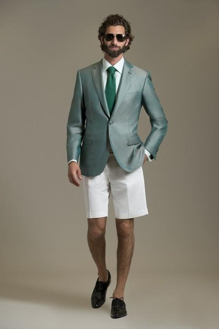 Немного цвета для мужчин – коллекция Brioni сезона весна-лето 2013 — фото 11