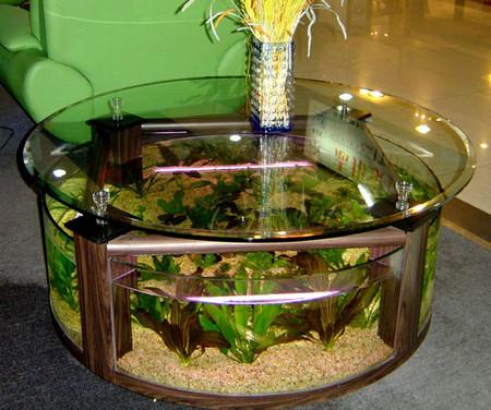 Аквариум – не только домик для рыб. Необычные и разные, маленькие и огромные аквариумы – солисты в интерьере — фото 10
