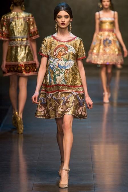 Dolce & Gabbana осень-зима 2013-2014 – когда всего слишком много — фото 72