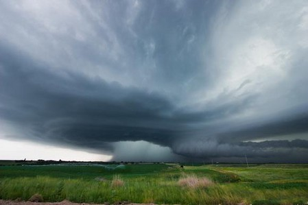 Торнадо, смерч, молнии, грозовые тучи – это красиво! Фотографии Майка Холлингшеда (Mike Hollingshead) — фото 26