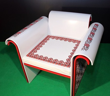 Вышивка по камню – мебель Ярослава Галанта — фото 8