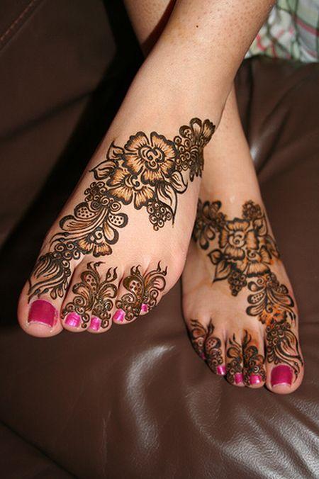 Менди – украшение не только для индийских принцесс — фото 58