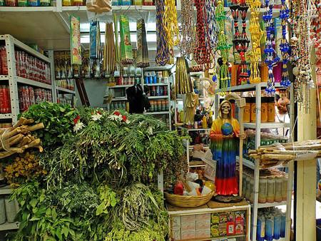 Большой рынок товаров для колдовства в Мексике — фото 12