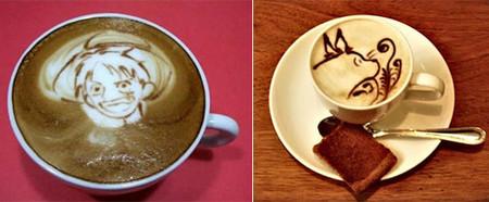 Герои аниме на кофейкой пенке – еще немного о латте-арт — фото 5