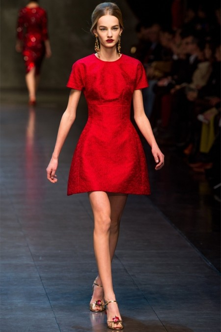 Dolce & Gabbana осень-зима 2013-2014 – когда всего слишком много — фото 62