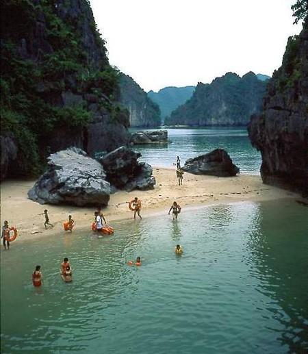 Каждый островок — отличное место для купания и отдыха