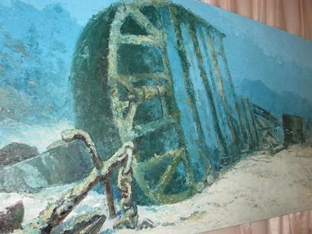 Подводная живопись ART GALLERY KATRAN – лучший способ передать цвета морских глубин — фото 10