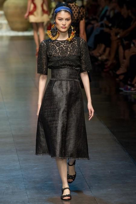 Сицилия от Dolce & Gabbana - женская коллекция весна-лето 2013 — фото 69