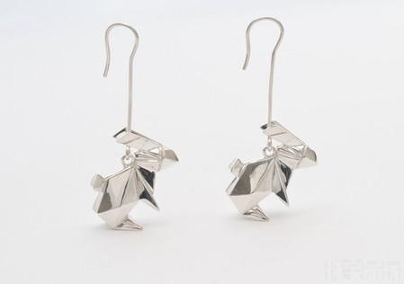 Драгоценные фигурки-оригами от Claire & Arnaud — фото 18