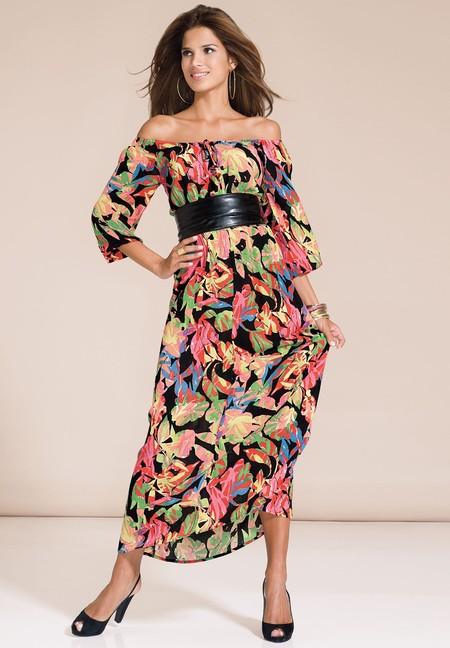 Открытые плечи – модная волна весны 2013 — фото 47