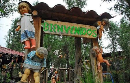 Остров кукол в Мексике – место не для детей — фото 14