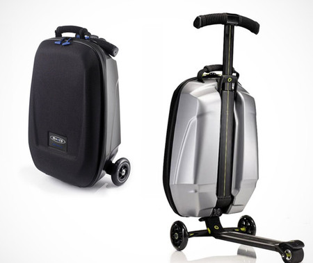 Чемодан + самокат = Micro Luggage Scooter — фото 12