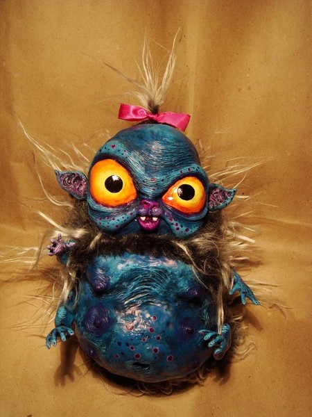 Милые монстры – игрушки Марии Santani — фото 48