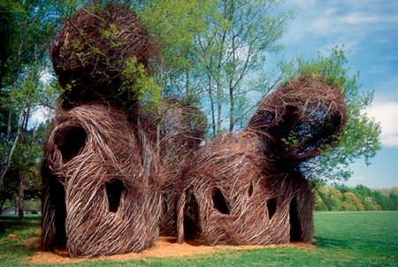 Патрик Догерти – скульптор, который вьет гнезда — фото 7