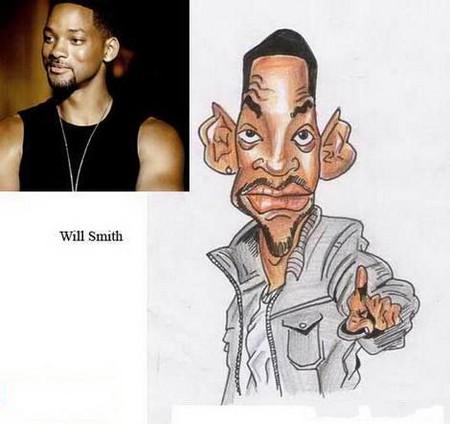 Современные карикатуры на голливудских звезд — фото 27