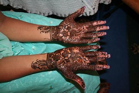 Менди – украшение не только для индийских принцесс — фото 34
