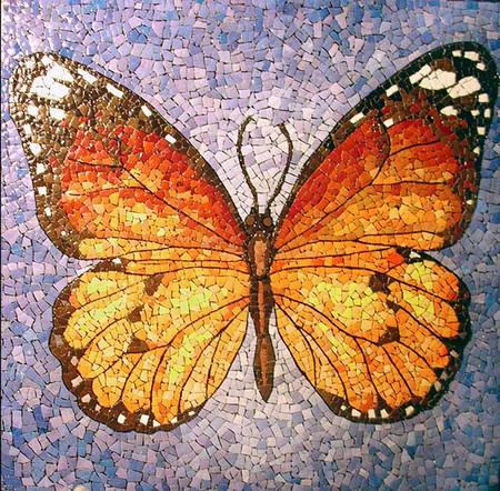 Мозаика из яичной скорлупы Любови Мешакиной — фото 19