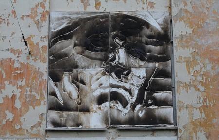 В память о ВОВ – лица, нарисованные огнем и «коктейлем Молотова». Проект T-Radya — фото 19