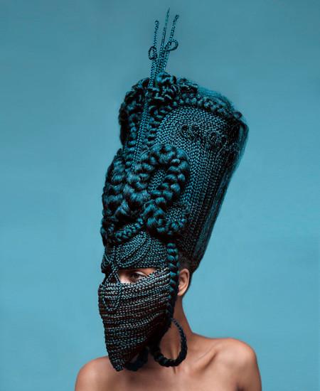 Прически или скульптуры? Идеи Joanne Petit-Frere — фото 9
