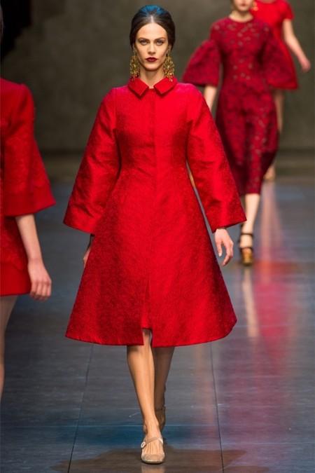 Dolce & Gabbana осень-зима 2013-2014 – когда всего слишком много — фото 60