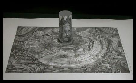 Анаморфные картины – загадки Иштвана Ороса — фото 16