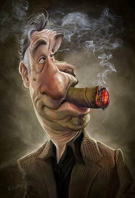 Современные карикатуры на голливудских звезд — фото 4
