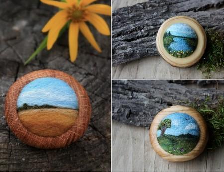 Маленькие войлочные штучки от Лизы Джордан — фото 7