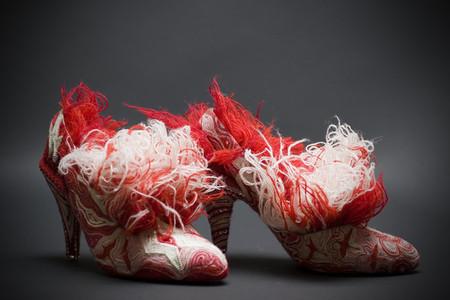 Туфли, похожие на скульптуры (или наоборот) от Марины Демпстер — фото 4