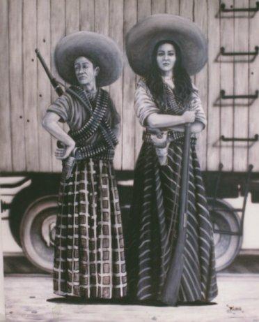 Мексиканские дамы. Сомбреро — универсальная вещь