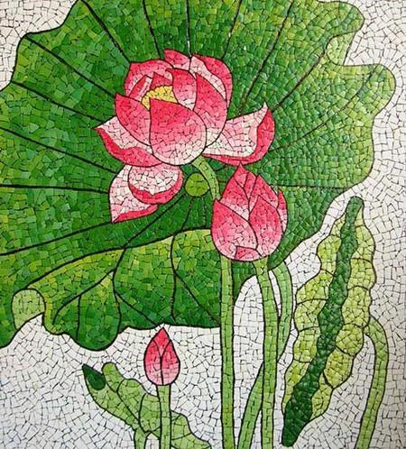Мозаика из яичной скорлупы Любови Мешакиной — фото 12