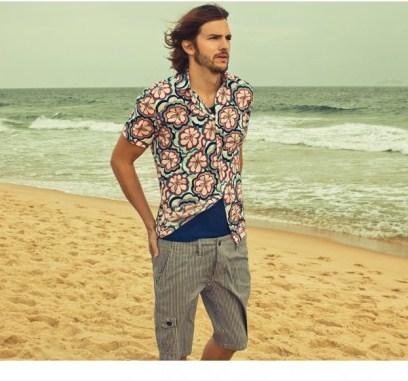 Коллекция Сolcci весна-лето 2013 – бразильский колорит для мужчин и женщин — фото 12