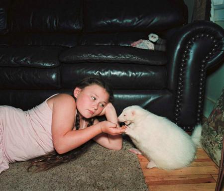 Фотопроект Amelia's world – животные в мире одной девочки — фото 28