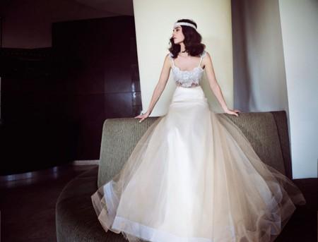 Свадебная коллекция Zahavit Tshuba – если хочется нежное и необычное платье — фото 12