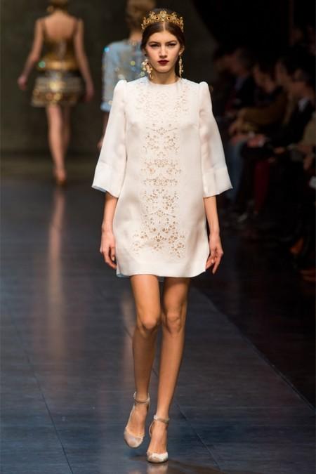 Dolce & Gabbana осень-зима 2013-2014 – когда всего слишком много — фото 44
