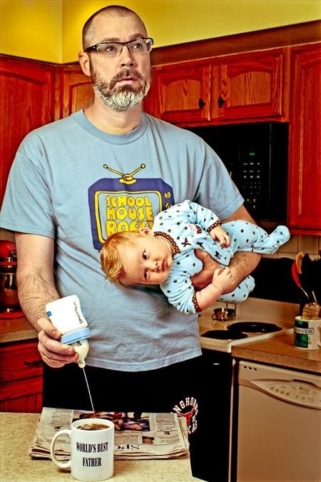 Папа и дочь – истории в картинках. Фото Дэйва Энглдау — фото 11