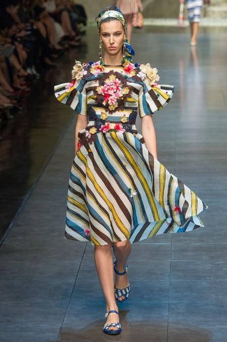 Сицилия от Dolce & Gabbana - женская коллекция весна-лето 2013 — фото 62