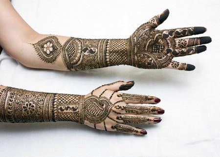 Менди – украшение не только для индийских принцесс — фото 21